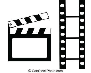 クラッパー, 映画, 板