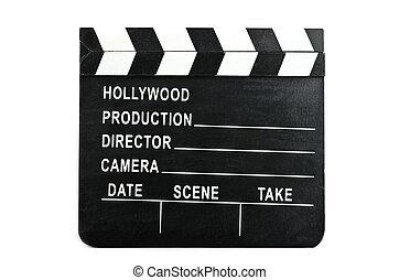 クラッパー, 映画, 白い背景