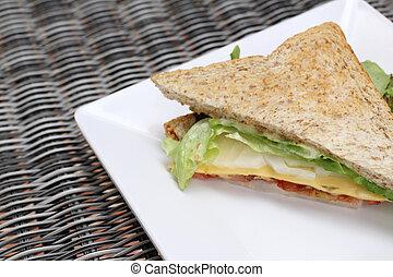 クラブサンドイッチ