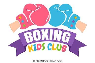 クラブ, ボクシング, 子供