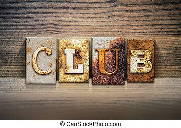 クラブ, 概念, 凸版印刷, 主題