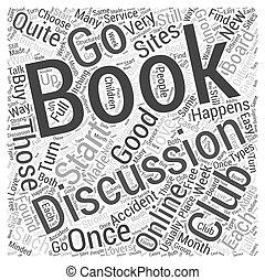 クラブ, 概念, 単語, 本, 雲