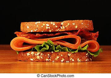 クラブ, sandwich.