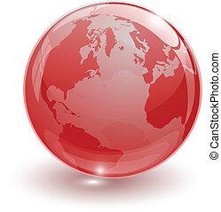 クリスタルグラス, ボール, ∥ために∥, globus