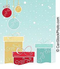クリスマスの ギフト, デザイン