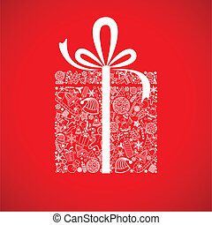 クリスマスの ギフト, 箱