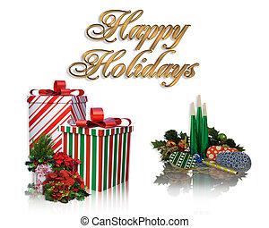 クリスマスの 休日, カード