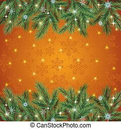 クリスマスの 休日, 背景