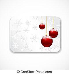 クリスマスカード, 贈り物
