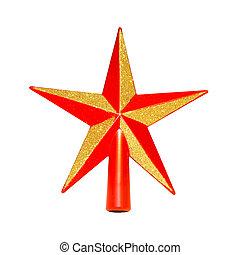 クリスマスツリー, 星