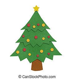 クリスマスツリー, papercraft.