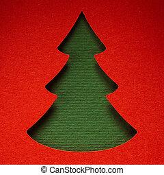 クリスマスペーパー, 背景, 手ざわり, papercraft, 主題