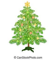 クリスマス安っぽい飾り, 木