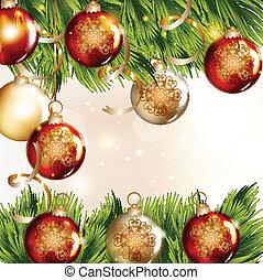 クリスマス安っぽい飾り, 背景