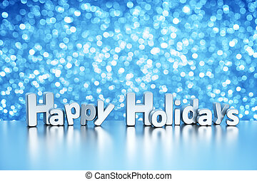 クリスマス, きらめき, 背景, -, 幸せ, ホリデー