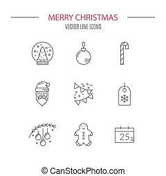 クリスマス, アイコン