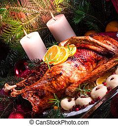 クリスマス, アヒル