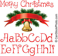 クリスマス, アルファベット
