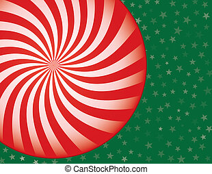 クリスマス, キャンデー, 背景, ハッカドロップ