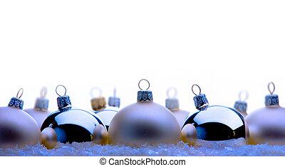 クリスマス, グリーティングカード, ∥で∥, クリスマス, ボール