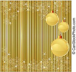 クリスマス, ストライプ, そして, 装飾