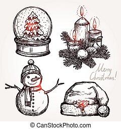 クリスマス, セット