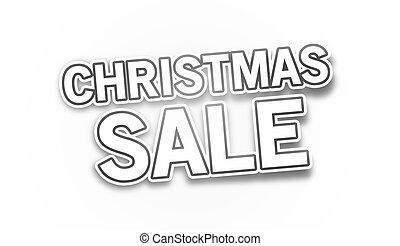 クリスマス, セール