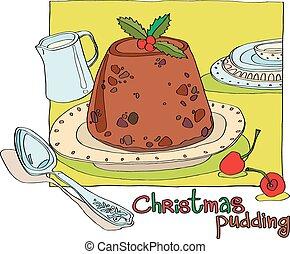 クリスマス プディング