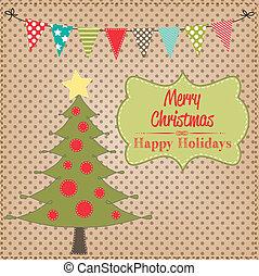 クリスマス, レイアウト, ∥で∥, 旗, ∥あるいは∥, 旗布