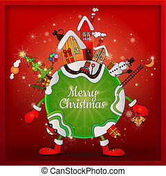 クリスマス, 世界, のまわり