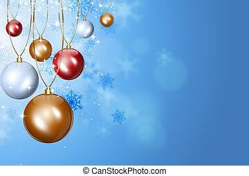 クリスマス, 休日, ボール