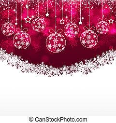 クリスマス, 休日, 背景