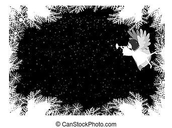 クリスマス, 天使, 背景