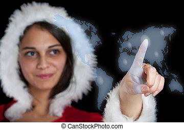 クリスマス, 女