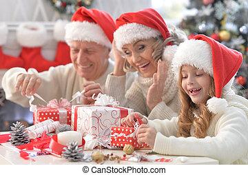 クリスマス, 家族, 準備