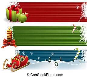 クリスマス, 旗
