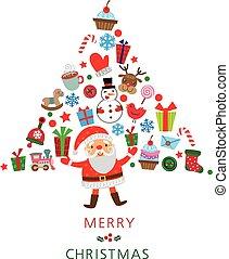 クリスマス, 木。