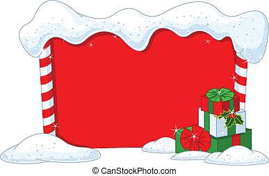クリスマス, 板