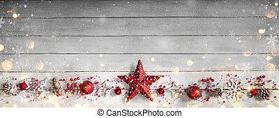 クリスマス, 横列, 装飾