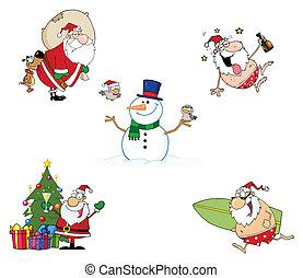 クリスマス, 漫画, 特徴