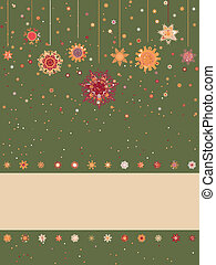 クリスマス, 背景, ∥で∥, レトロ, pattern., eps, 8