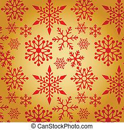 クリスマス, 背景, ∥で∥, 雪片, パターン