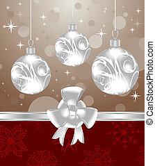 クリスマス, 背景, デザイン, パッキング