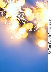クリスマス, 背景, ライト