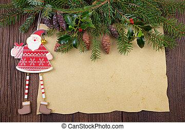 クリスマス, 背景, 型