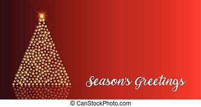 クリスマス, 背景, 安っぽい飾り, 木