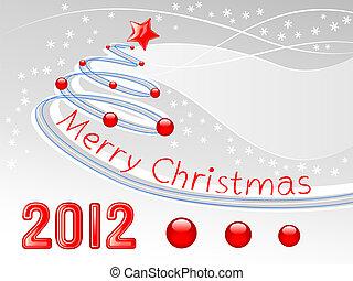 クリスマス, 背景, 木