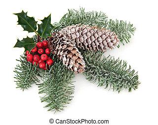 クリスマス, 草木の栽培場