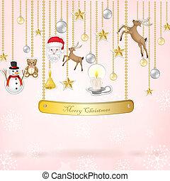 クリスマス, 要素, ステッカー