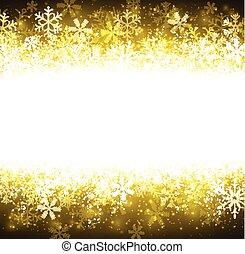 クリスマス, 金, 抽象的, バックグラウンド。